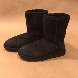 Black Classic Short Ugg Boots Size 8